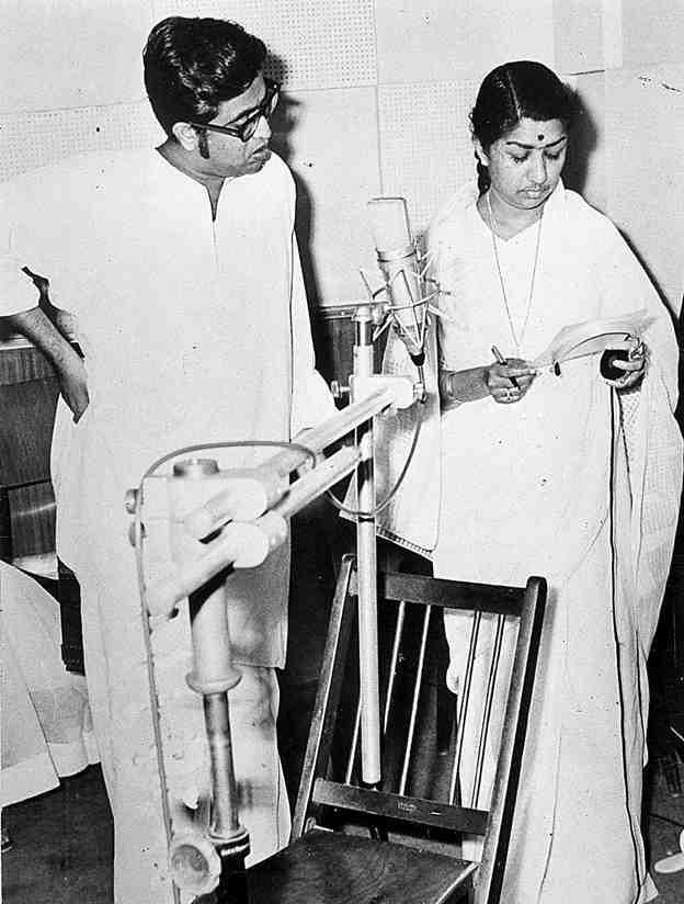 Lata with Hridaynath Mangeshkar