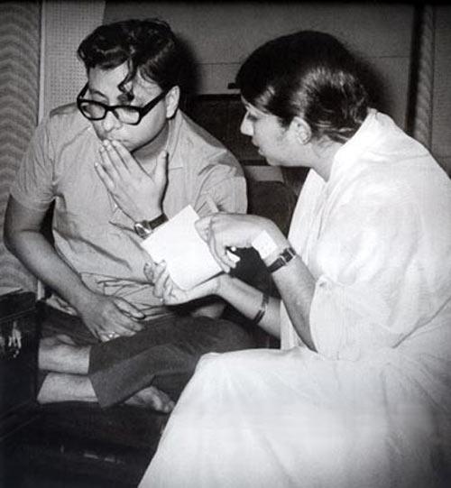 Lata with Rahul Dev Burman
