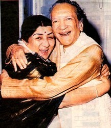 Lata with Pt. Ravi Shankar