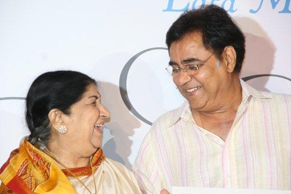 Lata with Jagjit Singh