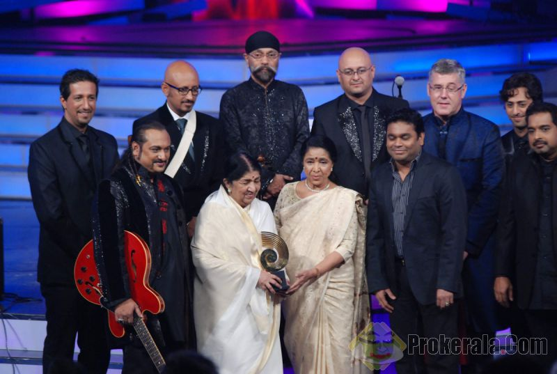 Lata and Asha with the new generation music directors