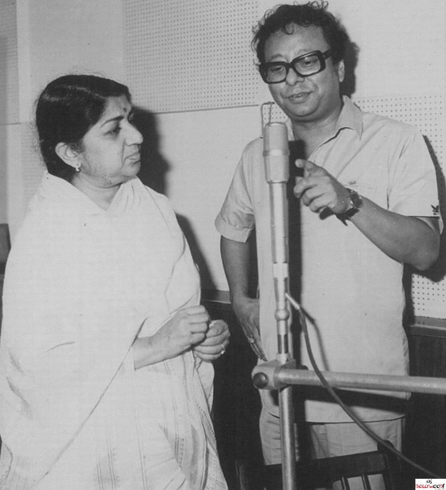 Lata with R.D. Burman