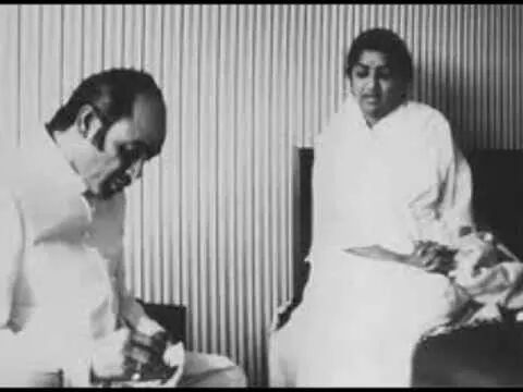 Lata with Mehndi Hassan