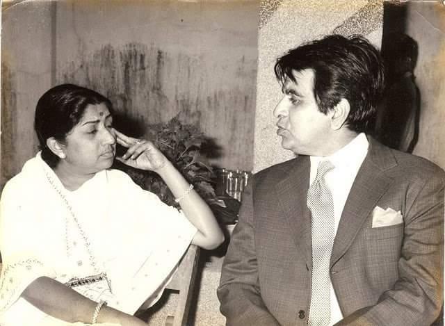 Lata-Dilip Kumar
